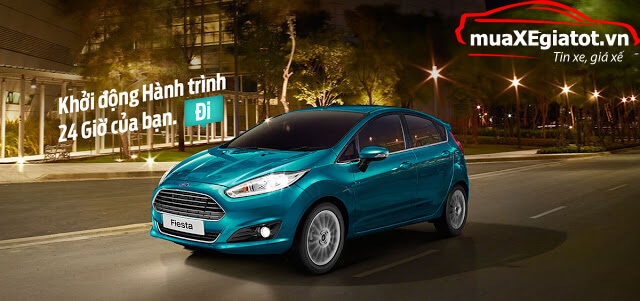Ford Fiesta 2018 muaXEgiatot vn - Ford Fiesta 2018 có gì đặc biệt?