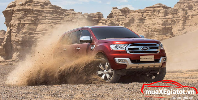ford everest 2018 muaXEgiatot vn - Ford Everest Titanium mẫu xe SUV sang trọng và tiện nghi