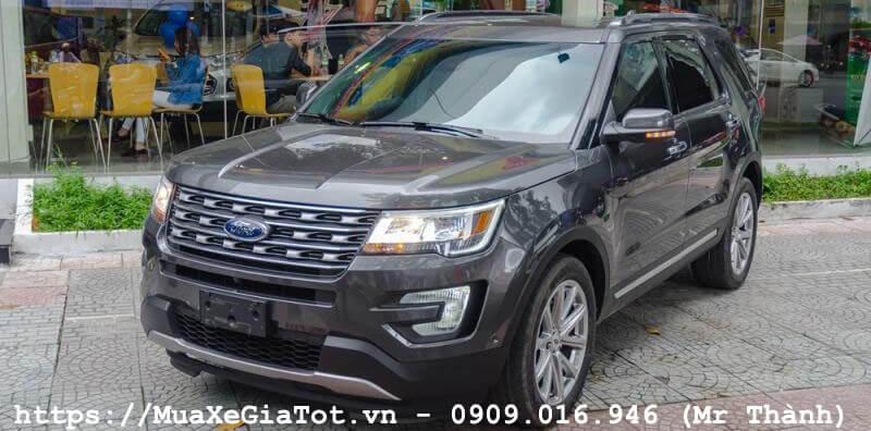 ford explorer 2017 2 - Giá xe Ford Explorer 2018 tại Việt Nam là bao nhiêu?