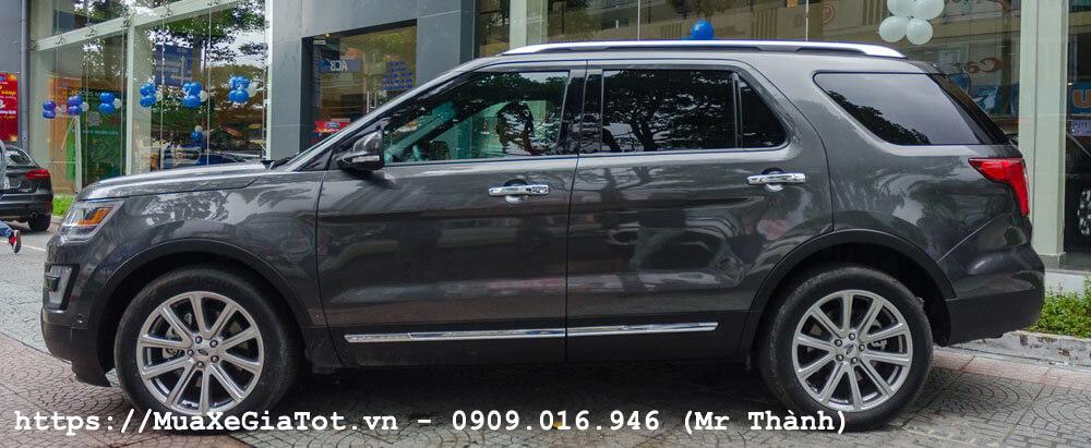 ford explorer 2017 6 - Giá xe Ford Explorer 2018 tại Việt Nam là bao nhiêu?