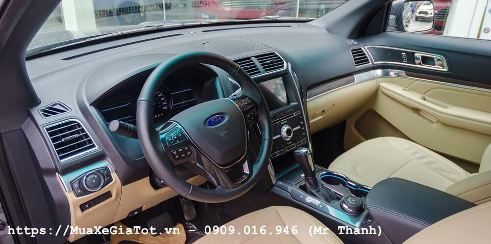 ford explorer 2017 8 - Giá xe Ford Explorer 2018 tại Việt Nam là bao nhiêu?