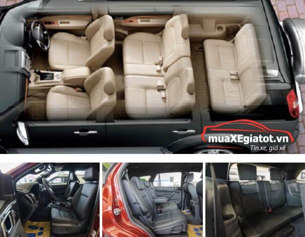 muaxegiatot vn ford everest 2018 8 - Ford Everest Titanium mẫu xe SUV sang trọng và tiện nghi