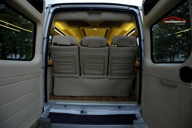 Khoang hành lý Limousine - Đánh giá Ford Transit Limousine 2018 phiên bản cao cấp nhất kèm thông số và giá bán