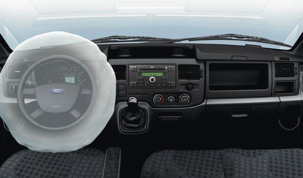 Hệ thống túi khí Ford Transit 2018