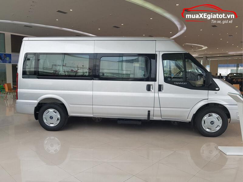 Ford Transit 2018 16 chỗ (Hông xe)