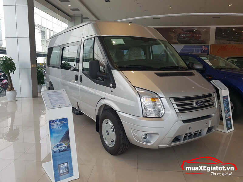 ford transit 16 cho mid LX muaxegiatot vn 5 - Đánh giá Ford Transit Mid LX 2021 kèm giá bán