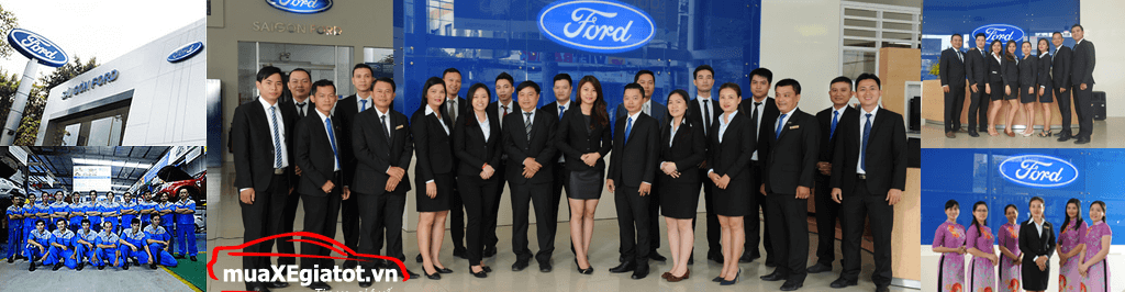 Sài Gòn Ford tự hào là đại lý uỷ quyền hàng đầu của Ford tại Việt nam