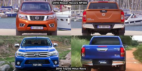 nissan navara toyota hilux 2 muaxegiatot vn - So sánh Toyota Hilux 2.4E AT và Nissan Navara EL (Số tự động, 1 cầu)