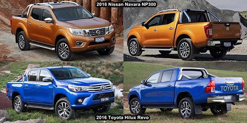 nissan navara toyota hilux 3 muaxegiatot vn - So sánh Toyota Hilux 2.4E AT và Nissan Navara EL (Số tự động, 1 cầu)