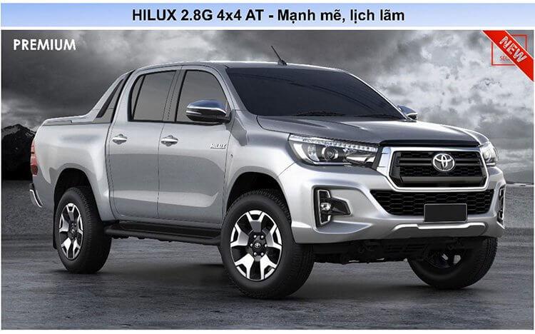 iểm thay đổi trên HILUX 2018 Page3 - Toyota Hilux 2021: Giá lăn bánh khuyến mãi   Tư vấn trả góp