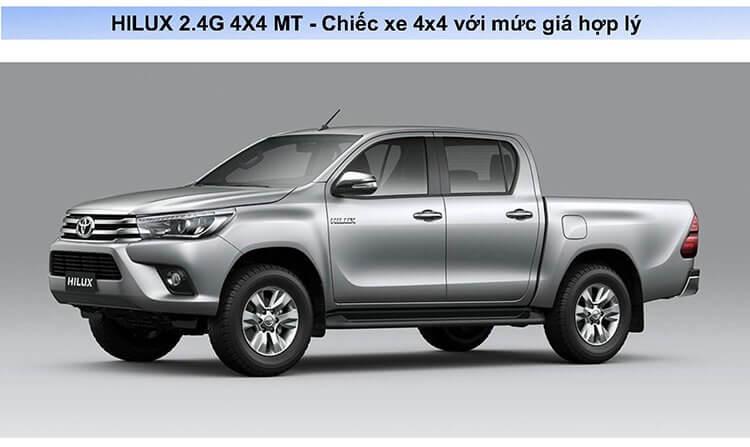 iểm thay đổi trên HILUX 2018 Page8 - Toyota Hilux 2021: Giá lăn bánh khuyến mãi   Tư vấn trả góp