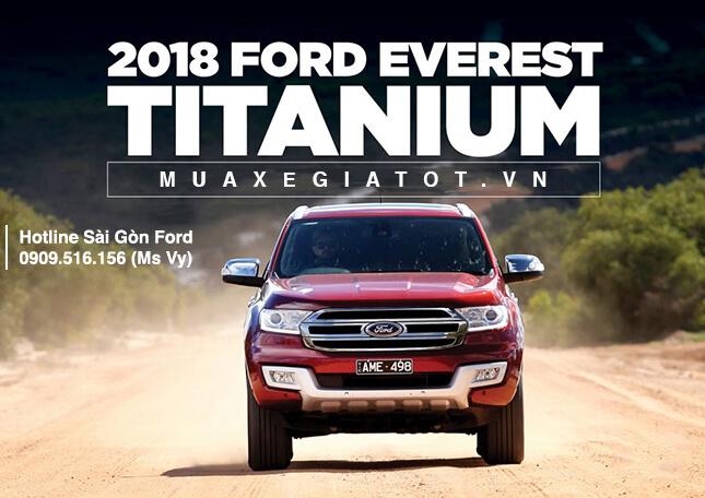 Liên hệ đặt xe Ford Everest 2019 tại Sài gòn Ford