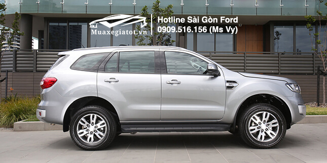 hông xe ford everest 2019