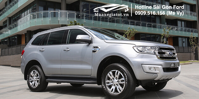 mâm xe ford everest 2019