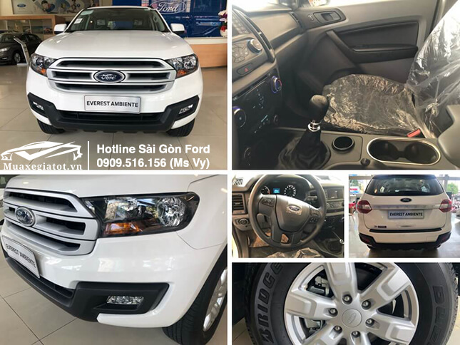 Ford Everest 2019 Ambiente số sàn