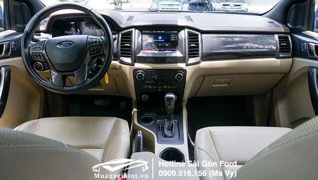 Nội thất xe Ford Everest 2019