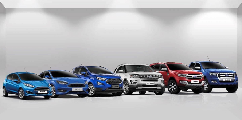 Bảng giá xe Ford 2019