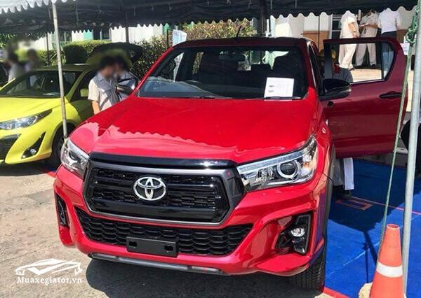 Toyota ra mắt phiên bản Hilux 2018 Facelift (2019) mới từ tháng 7/2018