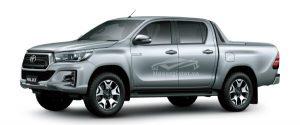Toyota Hilux 2018 - 2019 màu bạc