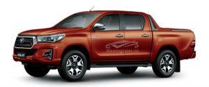 Toyota Hilux 2018 - 2019 màu cam