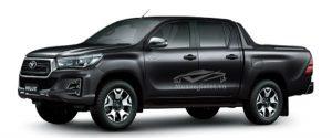 Toyota Hilux 2018 - 2019 màu đen