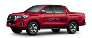 Toyota Hilux 2018 - 2019 màu đỏ