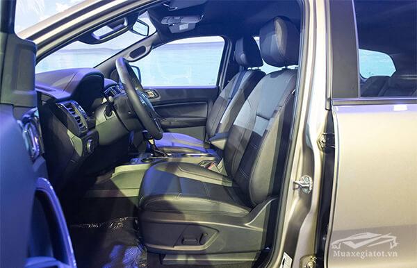 hang ghe thu nhat ford everest 2018 2019 titanium 20 at 1cau muaxegiatot vn - So sánh Ford Everest Titanium 2.0L AT 4WD và Toyota Fortuner 2.8V 4x4 AT (bản cao cấp)