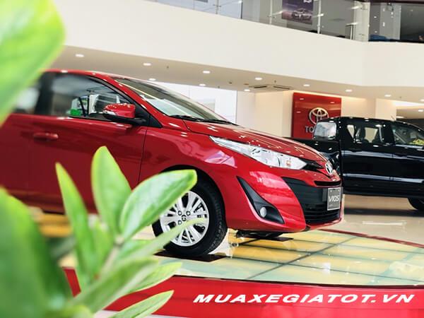 Bán xe Toyota Vios E CVT 2019 trả góp 85%, Lãi suất từ 0.3%
