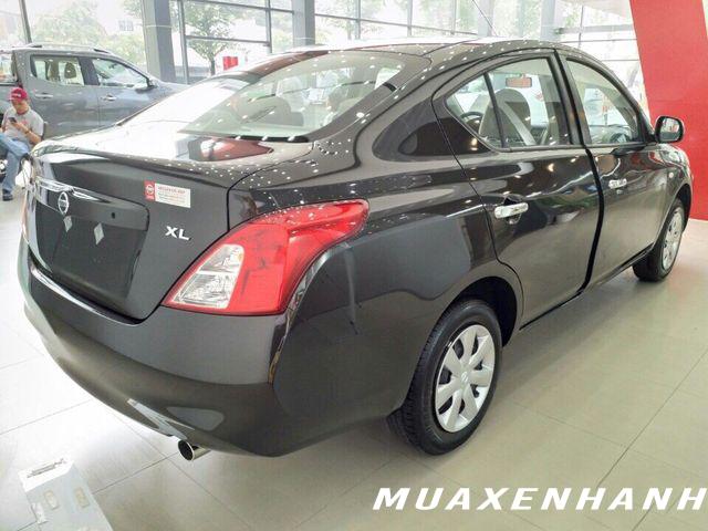 nissan sunny xl đuôi xe muaxegiatot vn - Nên mua xe Vios MT với Sunny XL số sàn chạy dịch vụ?