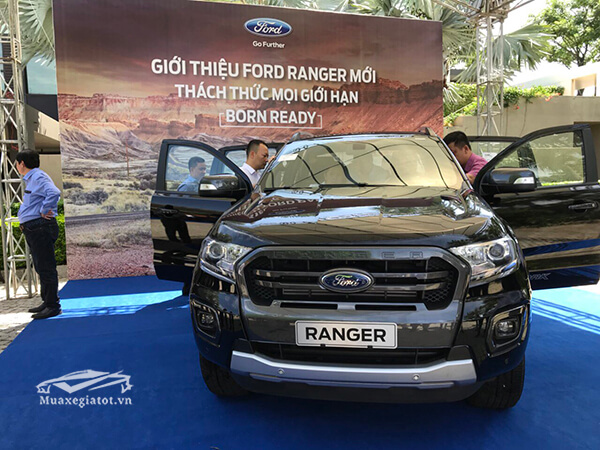 Chi tiết xe bán tải Ford Ranger Wildtrak 2019