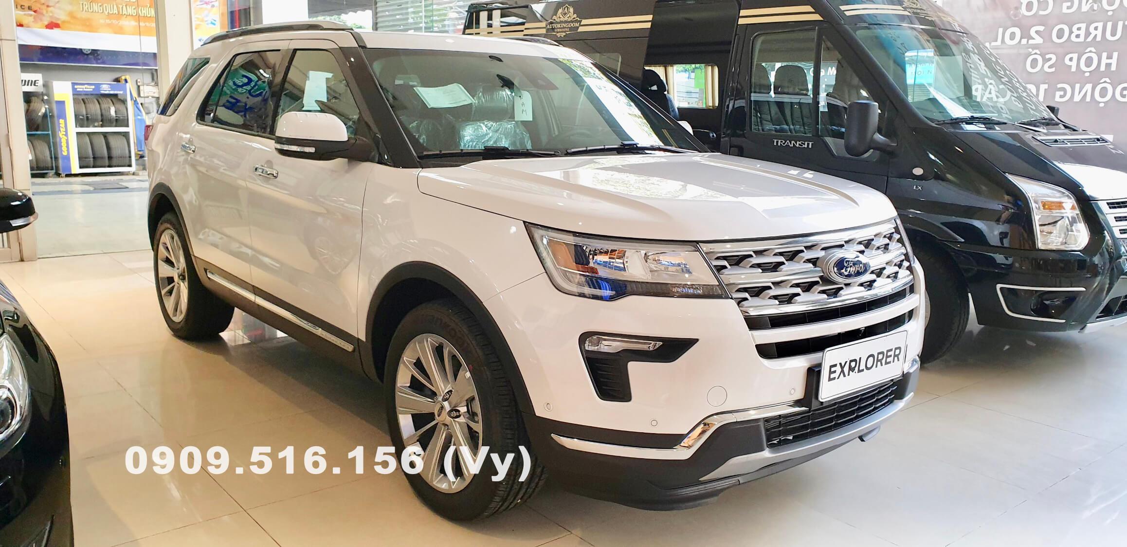 Đánh giá xe Ford Explorer 2019
