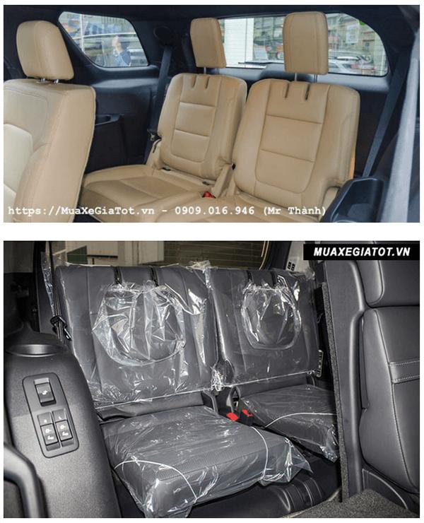 ss ford explorer va toyota prado 2019 ford saigon net 7 - So sánh Ford Explorer và Land Cruiser Prado VX 2021