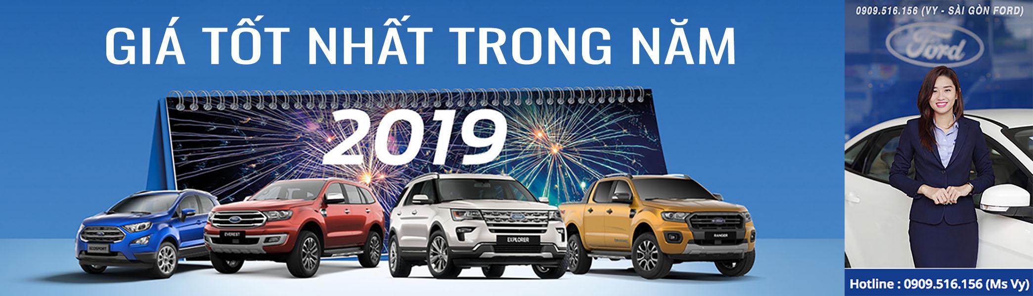 giá xe ford 2019 tốt nhất trong năm