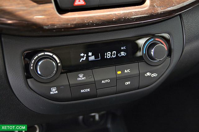 dieu hoa truoc suzuki ertiga 2020 xetot com - Đánh giá xe Suzuki Ertiga 2021 kèm giá bán khuyến mãi #1