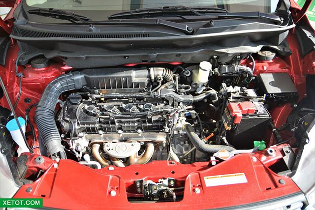 dong co suzuki ertiga 2020 xetot com - Đánh giá xe Suzuki Ertiga 2021 kèm giá bán khuyến mãi #1