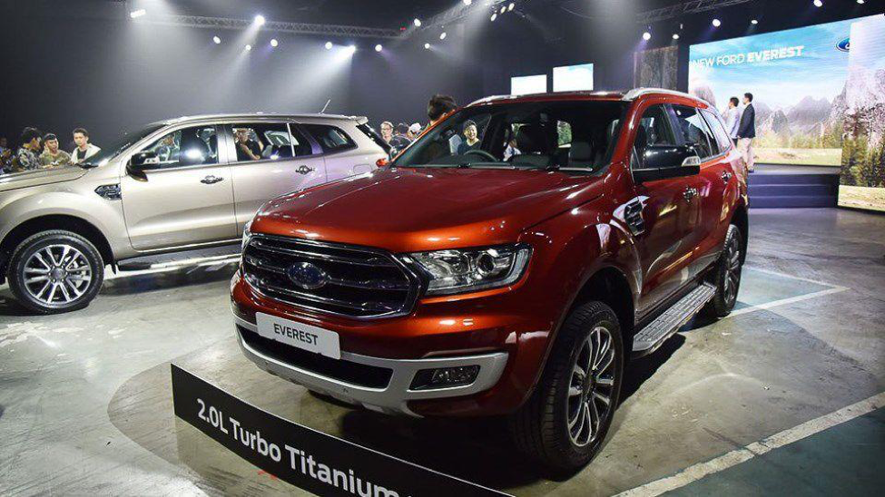 Ford Everest Titanium 2018  - Các phiên bản Ford Everest Titanium có mặt tại Việt Nam