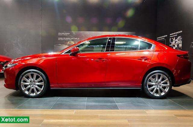 than xe mazda 3 2021 sedan danhgiaxehoi vn - Đánh giá Mazda 3 2021 - Ông trùm của dòng xe hạng C
