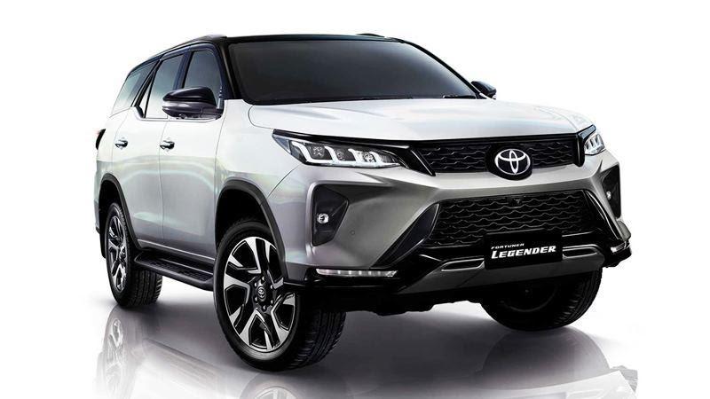 Phiên bản Legender  - Đánh giá xe Toyota Fortuner 2021, Bản cập nhật nhiều tính năng