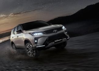 Toyota Fortuner 2021 chính thức ra mắt