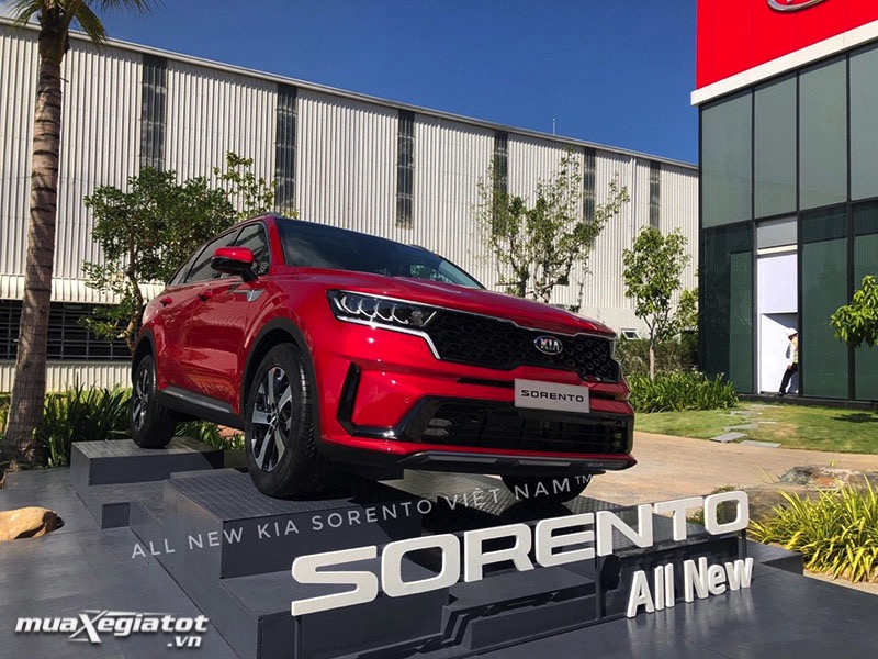 ra mat kia sorento 2021 the he moi muaxegiatot vn 4 - Đánh giá xe Ô tô 7 chỗ Kia Sorento 2021, Thiết kế trẻ trung và thể thao