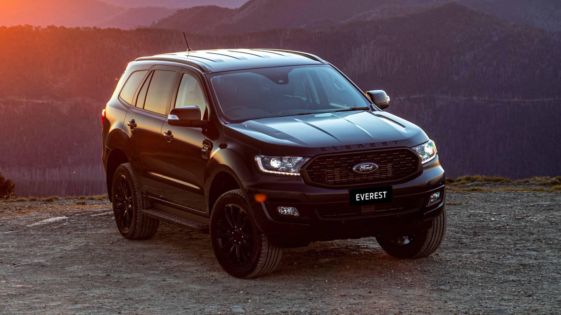 2021 ford everest sport australia spec 7 - Chi tiết Ford Everest Sport 2021 – Phiên bản thể thao cho phái mạnh