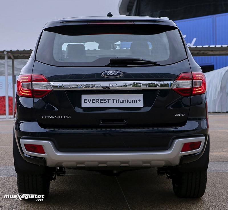 duoi ford everest 2021 titanium 4wd at bi turbo muaxegiatot vn - Chi tiết Ford Everest Titanium 2.0L AT 4WD 2021, bản cao cấp nhất của Everest