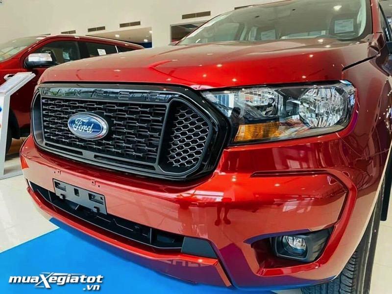 luoi tan nhiet xe ford ranger xls mt so san 1 cau muaxegiatot vn - Chi tiết xe bán tải Ford Ranger XLS MT 2021 (Ford Ranger XLS 2.2L 4x2 MT 2021)