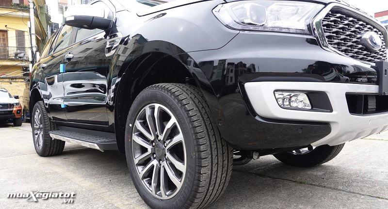 mam truoc ford everest 2021 titanium 4wd at bi turbo muaxegiatot vn - Chi tiết Ford Everest Titanium 2.0L AT 4WD 2021, bản cao cấp nhất của Everest