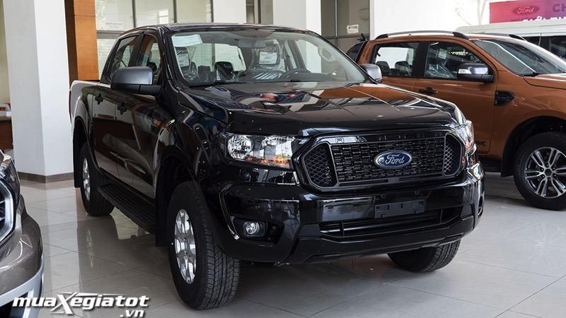 xe mau den xe ban tai ford ranger xls mt so san 1 cau muaxegiatot vn - Chi tiết xe bán tải Ford Ranger XLS MT 2021 (Ford Ranger XLS 2.2L 4x2 MT 2021)